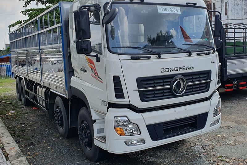 Xe tải 4 chân dongfeng thùng 9.5m 17.9 tấn