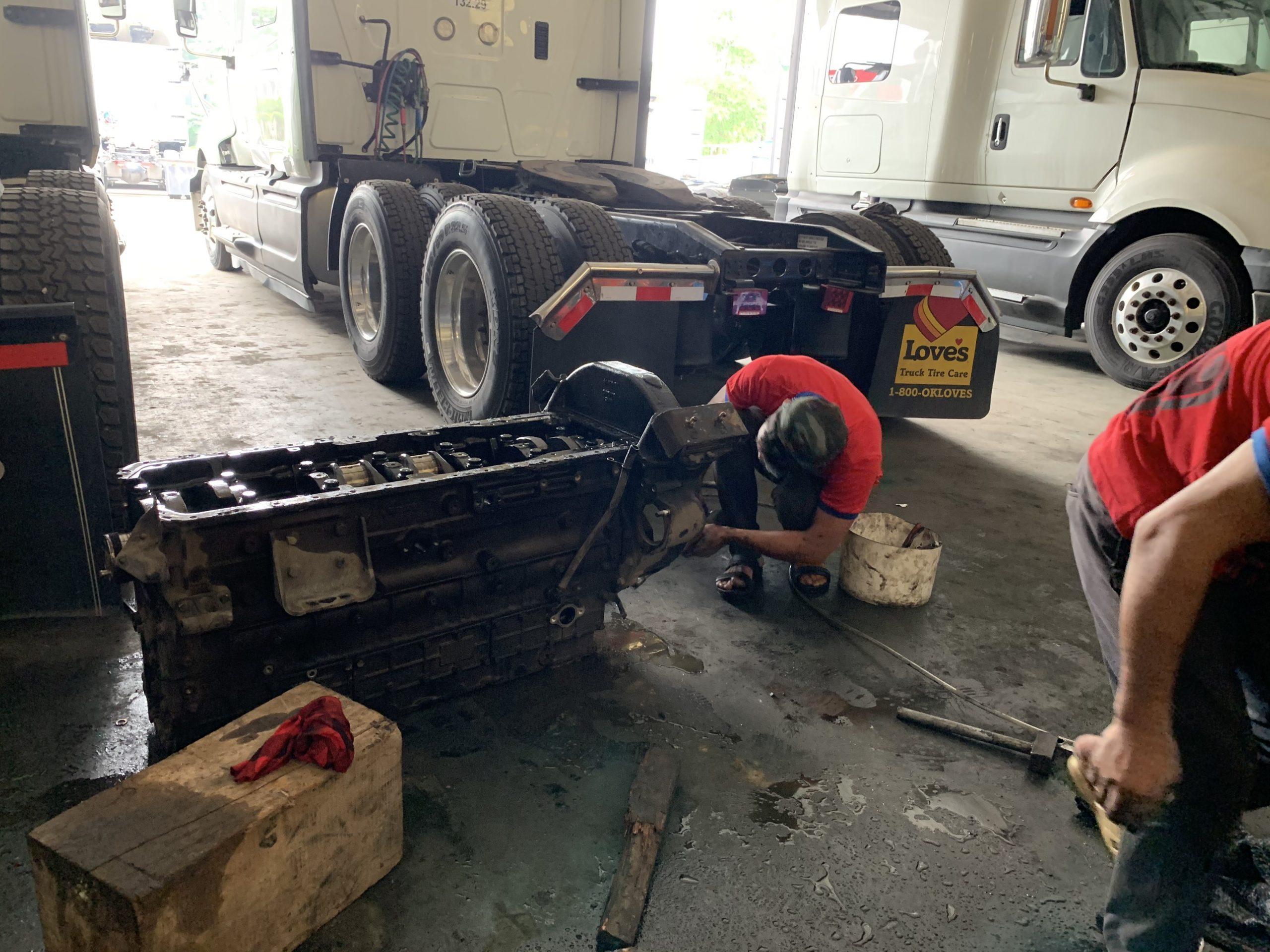 Dịch vụ sửa chữa - bảo dưỡng xe tải Dongfeng tại Hà Nội
